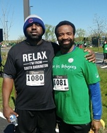 Brian and Orlando, Willow Creek 5K